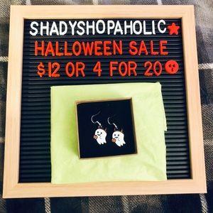 🎃 4 for $20 🆕 Little Devil Ghosts Earrings
